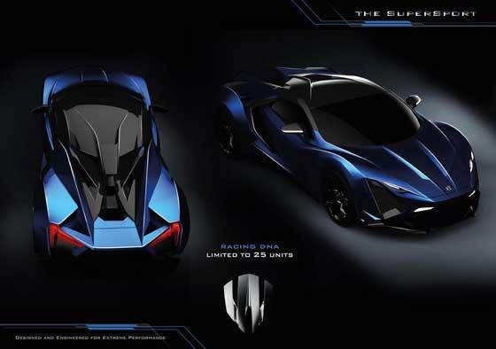 طوفان صحرا رقیب جدید اتومبیل های سوپر اسپرت ها (عکس)