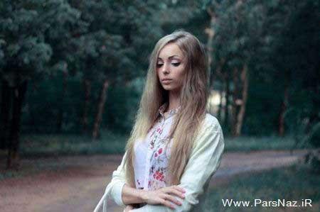 عکس های عروسک باربی زنده اوکراینی