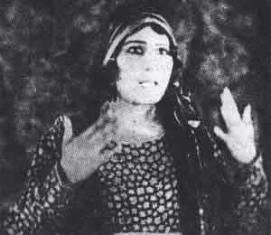عکسهای اولین خانم بازیگر ایرانی