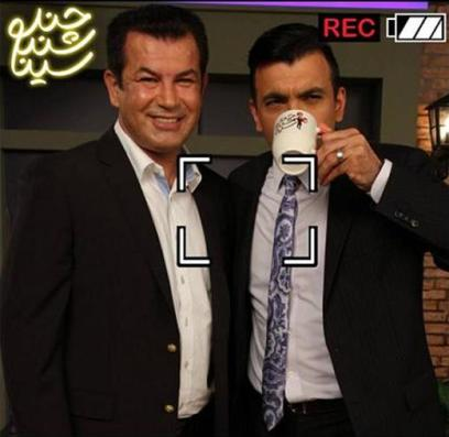 حضور حمید استیلی در شبکه فارسی 1 (عکس)