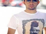 مدل تی شرت عجیب و جالب بهرام رادان + عکس