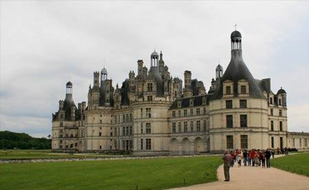 عکس های زیبا از قلعه شامبوغ در کشور فرانسه
