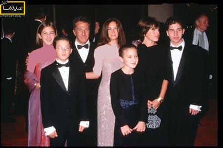 خانواده های شلوغ ستاره های سینمای هالیوود (عکس)