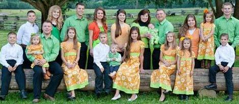فرزند 19 این خانواده پر جمعیت بدنیا آمد (عکس)