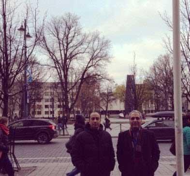 عکس جدید مهران مدیری در خارج از کشور