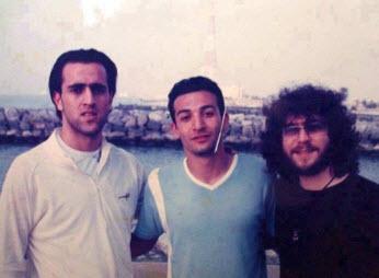 عکس علی کریمی در کنار منصور خواننده