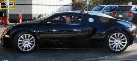 افراد مشهور هالیوود و اتومبیل های گران قیمت (عکس)