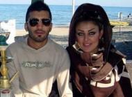عکس جنجالی ستاره باشگاه پرسپولیس و نامزدش!