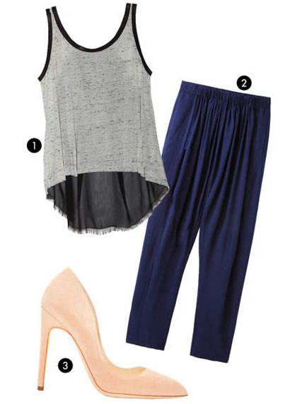 آموزش تصویری ست کردن لباس با کفش