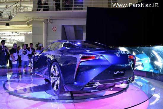 طراحی خیره کننده اتومبیل لکسوز جدید (+عکس)