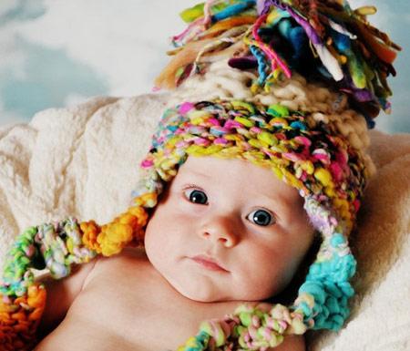 عکس هایی از مدل کلاه بافتنی بچه گانه