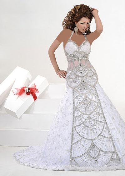 عکس هایی از مدل لباس عروس عربی