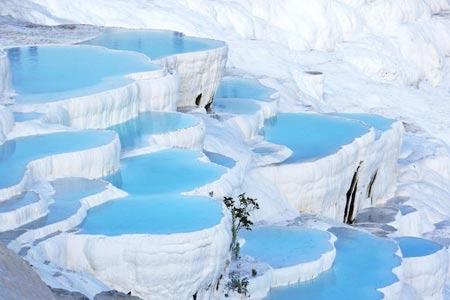 عکس های مناظر طبیعی زیباترین حوضچه های ترکیه
