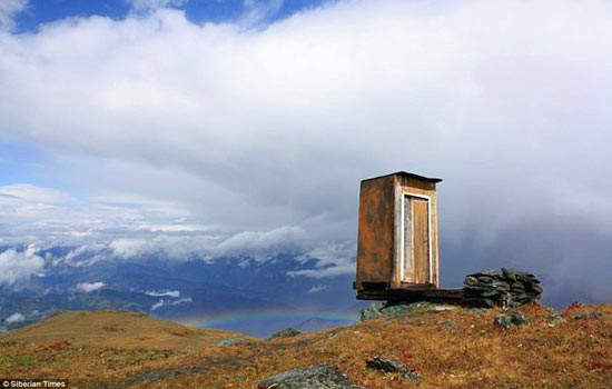 آیا جرأت دارید به این دستشویی بروید؟ (عکس)