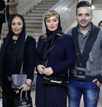 سحر قریشی در کنار برادر و مادرش (+عکس)