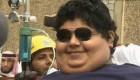 حمل سنگین وزن ترین پسر دنیا + عکس