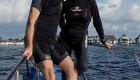 تصاویری از ازدواج رمانتیک این زوج در زیر آب
