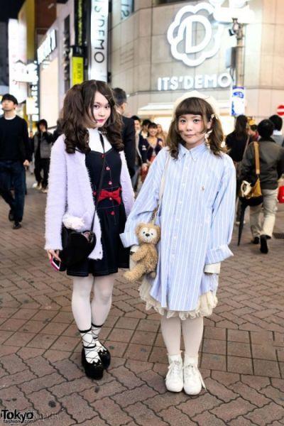 تصاویری از تیپ عجیب و فشن دختران ژاپنی