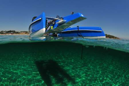 عکسهای جذاب از رانندگی در زیر آب
