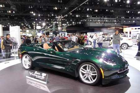 عکس های اتومبیل های زیبای سالن لس آنجلس