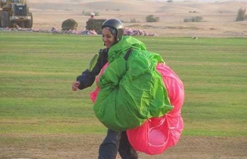 مصاحبه با دختر پرنده ایرانی (عکس)