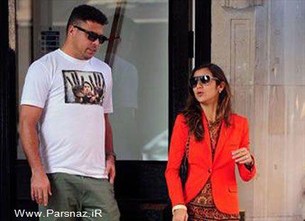 رونالدو برای چهارمین بار ازدواج کرد! (عکس)