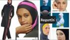 لباس با حجاب زنان ورزشکار هلندی (عکس)