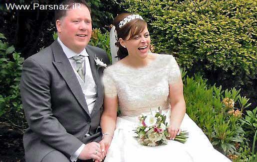 این عروس خانم چاق پس از سالها ازدواج کرد (عکس)