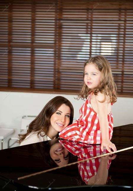 عکس های جدید نانسی عجرم خواننده زیبای عرب