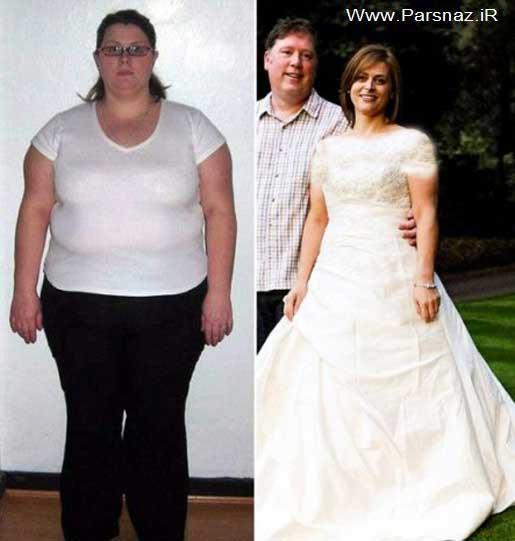 این عروس خانم چاق پس از سالها ازدواج کرد )عکس(