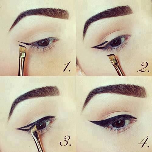 آموزش تصویری کشیدن خط چشم (زیبایی صورت)
