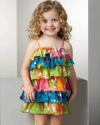 مدل لباس مجلسی بچگانه (4)