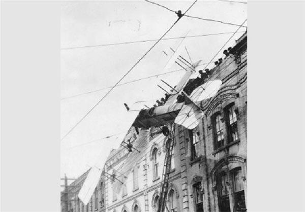 تصاویری از نخستین حوادث هواپیمایی