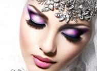 مدل های میکاپ و گریم خلیجی عروس (2)