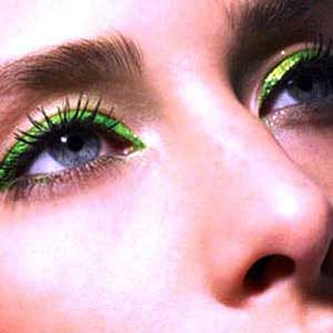 مدل های زیبا از خط چشم های رنگی