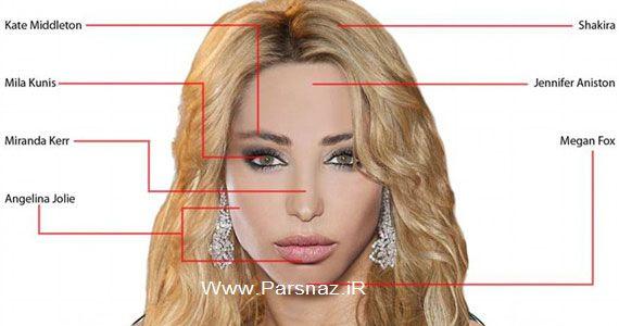 طراحی صورت زیباترین زن توسط مردان و زنان (+عکس)