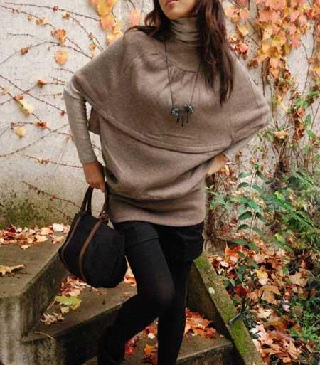 مدل جدید و شیک لباس زمستانی دخترانه