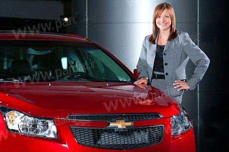 این خانم مدیر بزرگترین شرکت اتومبیل سازی جهان است