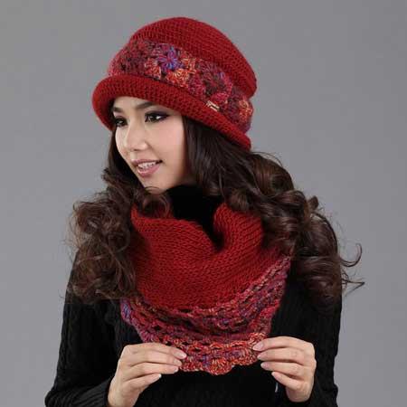 مدل شال و کلاه های فانتزی دخترانه بسیار زیبا