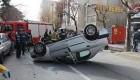 وقتی یک راننده خانم تهرانی خیابان را به هم میزند(عکس)
