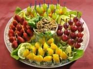 سبد میوه شب یلدا را چگونه تزیین کنیم؟ (آموزش تصویری)