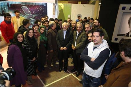 شوخی جالب مهران مدیری با آقای ظریف (+عکس)