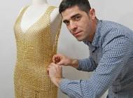 فروش لباس زنانه گرانقیمت طلا (+عکس)