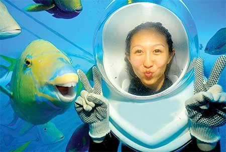 لبخند این ماهی جنجال برانگیز شد +عکس