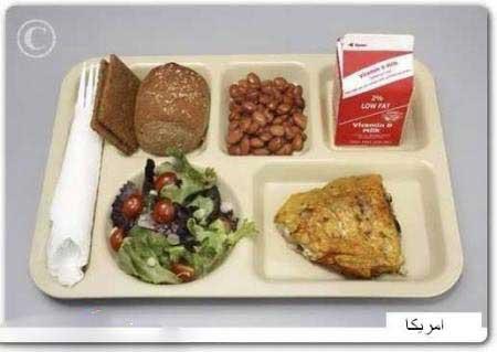فرق غذای دانشجویان خارجی و ایرانی در دانشگاه