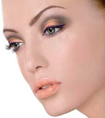 مدل آرایش چشم مخصوص زمستان + عکس