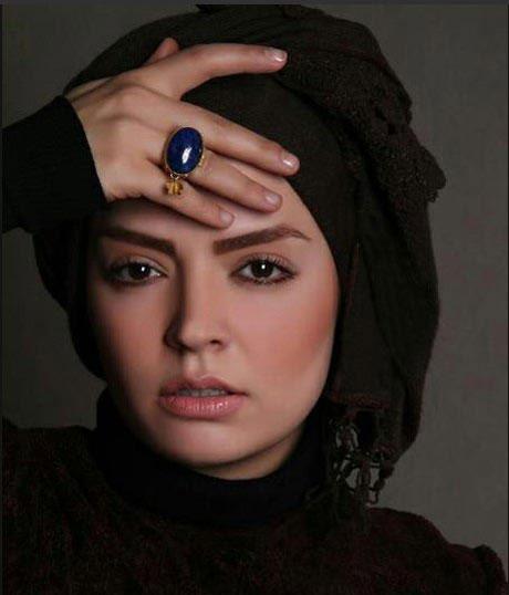 حجاب سپیده خداوردی بازیگر زیبای ایرانی در امریکا + عکس