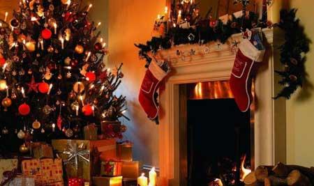 تزئینات خانه برای کریسمس