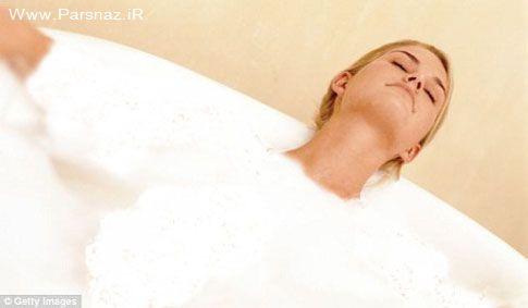 مد جدید در حمام کردن مردم انگلستان + عکس