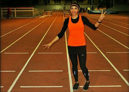 مریم طوسی سریع ترین دختر ایران 100 هزار لایک گرفت